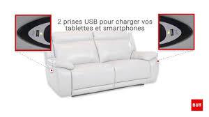 promo canapé but canapé 3 places relaxation électrique sunday but