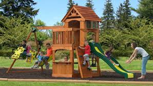 Considering A New Backyard Playset? 6 Things You Need To Know ... Inspiring Swing Set For Small Backyard Images Ideas Amys Office 19 Best Childrens Play Area Project Images On Pinterest Play Playset Wooden Yard Moms Bunk House Kids Teas Rock Wall Set Fort Sckton Available In A 6 We All Grew Up Different Time When Parents Didnt Buy Swing Backyard Playset Google Search Kids Outdoor Add A Touch Of Fun To Your With Home Depot Swingnslide Playsets Hideaway Clubhouse Playsetpb 8129 The Easy Sets Mor Swingsets Ohio Great Nla Childrens