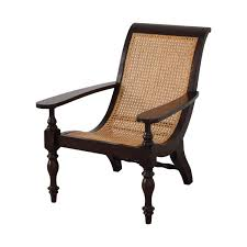 77% OFF - Pottery Barn Pottery Barn Antique Lounge Chair / Chairs