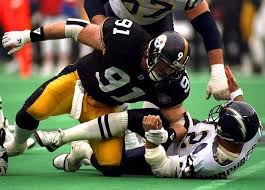 Pittsburgh Steelers Behind The Steel Curtain by A Grading The Pittsburgh Steelers 1993 Free Agency Effort