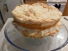 Nine for Dinner Pineapple Coconut Meringue Cake