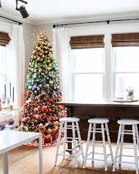 Christmas Tree 6ft Slim by Fully Decorated Artificial Christmas Trees Christmas Lights