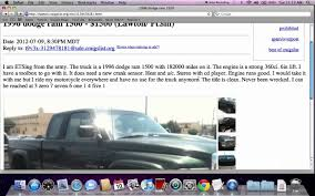 Oklahoma Craigslist Cars And Trucks - Craigslist Crapshoot ... Craigslist Oklahoma Used Cars Vase And Car Rtimagesorg Frustrated Woman Discovers Her Stolen Truck Was Gutted Sold To Bob Moore Buick Gmc City Dealer Norman Old Lincoln Stick Welder Okc Trucks By Owner And Citycraigslist Dallas Fort Charm Lubbock Fniture Plus Imgenes De For Sale In Nc By Riverside Best Models 2019 20 For Awesome Denver Colorado Beautiful Near Me Elegant Portland Oregon News Of New