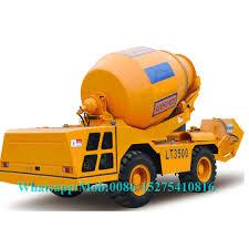 100 Concrete Truck Capacity Yellow Construction Equipment Mini