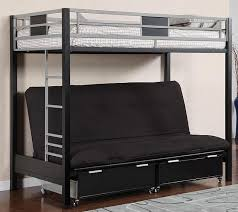 kobe twin over futon bunk bed