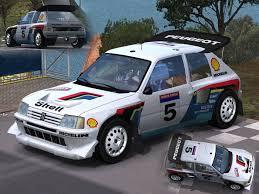Trackmania Carpark • 3D Models • Peugeot 205 T16 Evo2