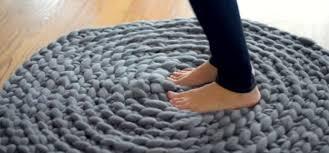 tapis a faire soi meme sa technique pour faire un tapis en tricot est si facile même