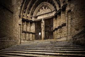 abbaye de la chaise dieu photothèque arnaud frich façade sud de l abbatiale de la chaise dieu