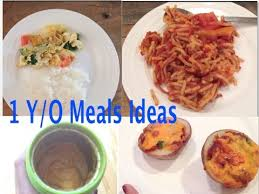 1 Year Old Meal Ideas