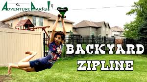 70 Foot Backyard ZIPLINE By Adventure Parks | KidToyTesters - YouTube Backyard Zip Line Alien Flier 2016 X2 Kit Installation Youtube 25 Unique Line Backyard Ideas On Pinterest Zipline How To Construct A 5 Steps With Pictures Wikihow Diy Howto Install Tighten A Zip Line Easy Trick Build Without Trees Outdoor Goods Toy Homemade Summer Activity Play Cable Run For Your Dog Itructions Photos Make Zipline Or Flying Fox At Home Science Fun How To Make Your Own 100 Own