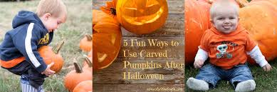 Ways To Carve A Pumpkin Fun by 5 Fun Ways To Use Carved Pumpkins After Halloween Almost All The