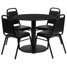 Central Seating Flash Fniture 36 In Round Natural Laminate Table Set With 4 Black Tables A Chair Affair Inc Glass Top Lovely Kitchen And Chairs Lets Talk Linens The Ultimate Guide To Linen Sizes Party Product Categories Conway Rental Center 96 X 42 Banquet Wood Folding Metal Edging Offex Ladder Back And Vinyl Seat Ofre008bkfstdr Rentals Aaa Rents Event Services Chaps Time Bars Spokane
