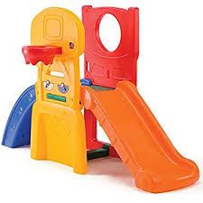 Step2 Playhouses Slides U0026 Climbers by Amazon Com Step2 Game Time Sports Climber And Slide Toys U0026 Games
