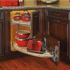 Blind Corner Base Cabinet Organizer by Rev A Shelf U0027 U0027the Curve