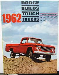 100 1962 Dodge Truck 4WD Pickup Model W100 W200 W300 WM300 W500