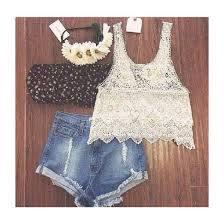 Tumblr Summer Outfit No Flowers Just The