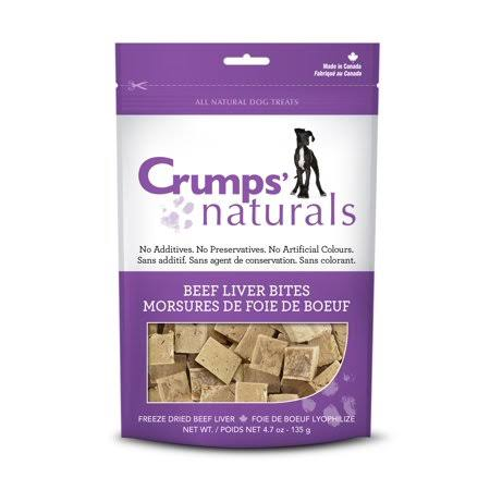 Crumps Naturals Beef Liver Bites Dog Treats - 2.3 oz