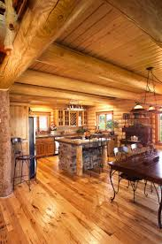 Log Home Kitchen Design | Yellowstone Log Homes Custom Log And Timber Homes Designs Streamline Design Natural Element Surprising Home Interior Ideas Photos Best Idea Home Modern Floor Plans 78 Images About Cabins On Cabin Pioneer New Mexico Of Bc Beautiful Satrwhite With Great Inhabitat Green Innovation Architecture The 25 Best Homes Ideas On Pinterest Cabins Cabin World Outdoors And Myfavoriteadachecom Prices Story Log Floor Plans Single Plan Trends Design Images