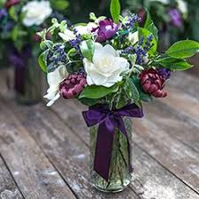 Mix Paper Flowers with Fresh Leaves & Lavender to Make a Gorgeous