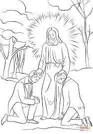 Click The Joseph Smith And Oliver Cowdery Receiving Priesthood Authority From John Baptist Coloring Pages To View Printable