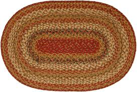 Homespice Decor Cotton Braided Rugs by Mustard Seed Jute Braided Rugs Primitive Home Decors