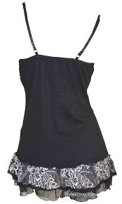 archer gypsy boho victorian lace up camisole top black u0026 white
