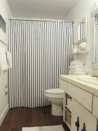 Blue Vertical Striped Curtains by Navy And White Vertical Stripe Shower Curtain Navy And White