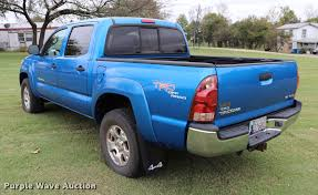 2006 Toyota Tacoma Double Cab Pickup Truck | Item ED9639 | S...
