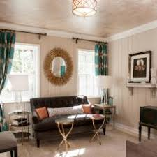 Grey Brown And Turquoise Living Room by Photos Hgtv