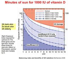 even small amounts of uvb result in increased vitamin d levels