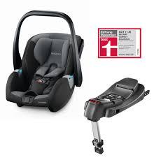 siege b b recaro recaro infant car seat guardia including smartclick base 2018 carbon