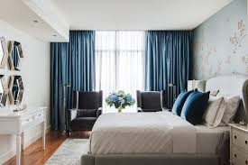 Blue Sheer Curtains Uk by Blackout Bedroom Curtains Interior Design