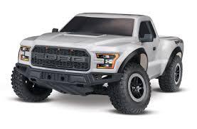 100 Ford Raptor Truck Traxxas 580941T4 2017 RTR Slash 110 2WD Silver