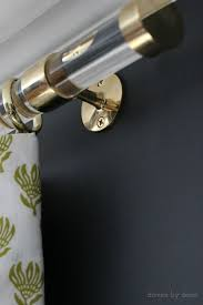 Umbra Cappa Curtain Rod Canada by Best 25 Brass Curtain Rods Ideas On Pinterest Drapery Rods
