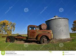 100 Ton Truck Rusty Old Ford Full Stock Image Image Of Memories