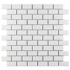 Home Depot Merola Hex Tile merola tile metro subway matte white 11 3 4 in x 11 3 4 in x 5