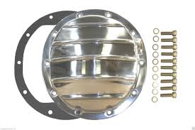 Differential Cover Polished Aluminum GM 8.5