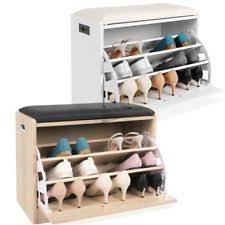 Bench Shoe Storage by Shoe Storage Bench Ebay