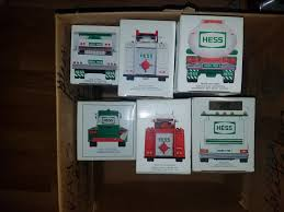 HESS TRUCK COLLECTION - For Sale - Collectibles - Paper Shop - Free ... The Hess Trucks Back With Its 2018 Mini Collection Njcom Toy Truck Collection With 1966 Tanker 5 Trucks Holiday Rv And Cycle Anniversary Mini Toys Buy 3 Get 1 Free Sale 2017 On Sale Thursday Silivecom Mini Toy Collection Limited Edition Racer 911 Emergency Jackies Store Brand New In Box Surprise Heres An Early Reveal Of One Facebook Hess Truck For Colctibles Paper Shop Fun For Collectors Are Minis Mommies Style Mobile Museum Mama Maven Blog