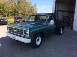 100 Chevy Dump Trucks 1978 C30 Truck With Single Rear Wheels Classic Truck