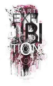 Annual Student Art Exhibition Poster On Behance