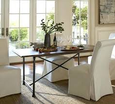 Pottery Barn Dining Tables Outdoor Sets Fixed Table Room