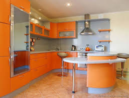 Kitchen Idea Of The Day A Gallery Modern Orange Kitchens Colorful