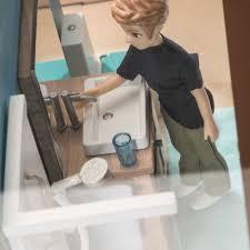 djeco zubehör puppenhaus badezimmer