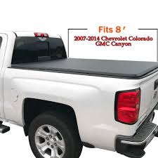 100 Bed Cover Truck TriFold Tonneau For 2007 2008 2009 2010 2011 2012