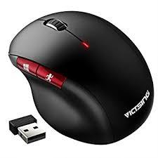 souris pour ordinateur de bureau souris ergonomique sans fil victsing souris optique verticale 2