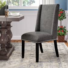 100 Dress Up Dining Room Chairs Florinda Wood Leg Holstered Chair Reviews Birch Lane