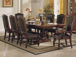 Sofia Vergara Black Dining Room Table by Gorgeous Dining Room Table Set Dr Rm Savona Brown Sofia Vergara