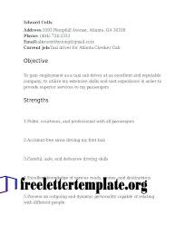 Free Obtain Pattern Template Cdl Driver Resume Samples Sample For A Truck Word Format