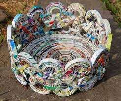 1000 Ideas About Newspaper Crafts On Pinterest